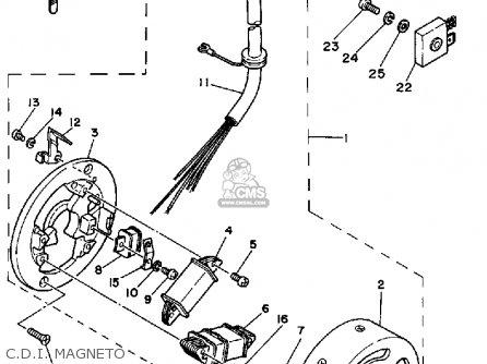 Yamaha Rx50k (50 Special) 1983/1984 parts list partsmanual