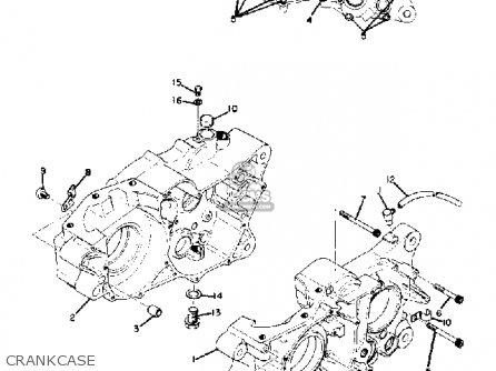 Yamaha SC500 1973 USA parts lists and schematics