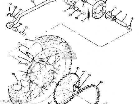Yamaha Sc500 1974 Usa parts list partsmanual partsfiche