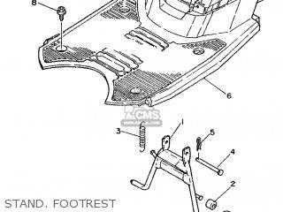 Yamaha Sh50 1994 3uv6 Holland 243uv-341e1 parts list