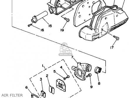 Yamaha Sh50a 1990 3ep6 Sh50ma 1990 3kl2 parts list