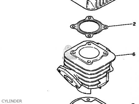 Yamaha SH50D 1992 CANADA parts lists and schematics