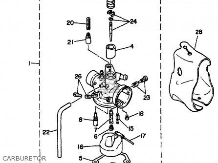 Yamaha Sh50m 2000 parts list partsmanual partsfiche