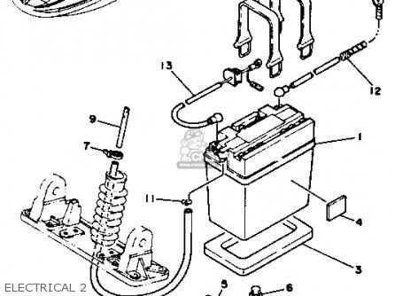 Yamaha Sj650d 1990 Ew2 Superjet Usa parts list partsmanual
