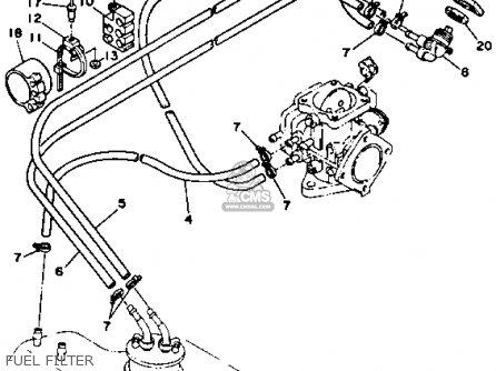 Yamaha Sj650d 1990 parts list partsmanual partsfiche