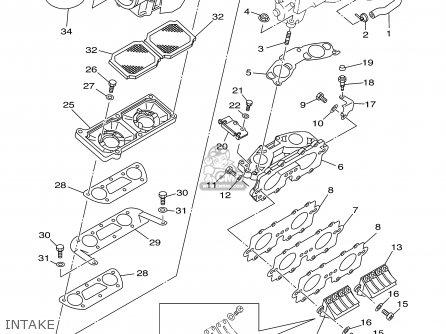 Yamaha SJ700A SUPERJET F1N1 2002 TAIWAN parts lists and