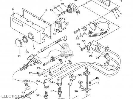 Yamaha Sj700b 2003 Taiwan parts list partsmanual partsfiche