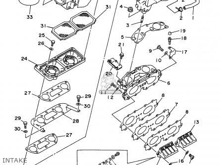 Yamaha SJ700W 1998 TAIWAN parts lists and schematics