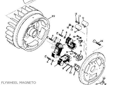 Yamaha Sl338 1969 parts list partsmanual partsfiche
