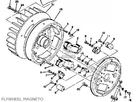 Yamaha Sl338b 1971/1972 parts list partsmanual partsfiche