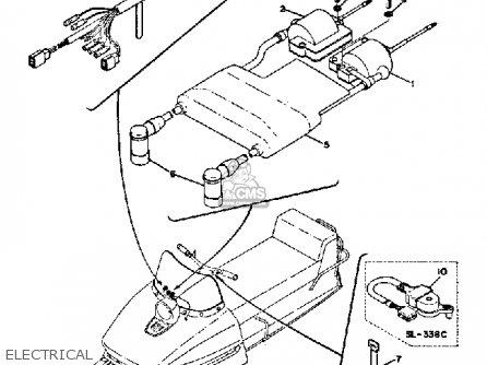 Yamaha Sl338c 1971/1972 parts list partsmanual partsfiche