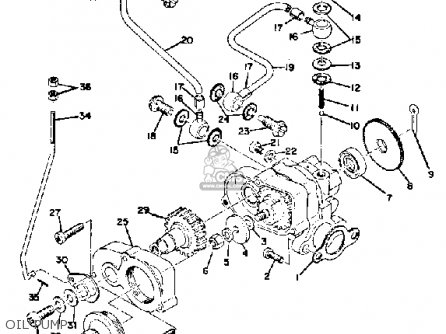 Yamaha Sl338c 1971/1972 parts list partsmanual partsfiche