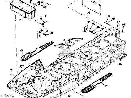 Yamaha Sl338d 1973 parts list partsmanual partsfiche