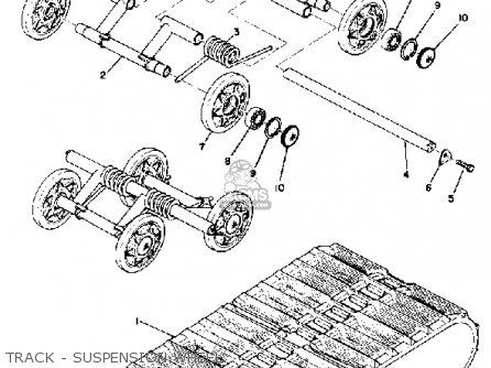 Yamaha Sl338f 1974 parts list partsmanual partsfiche