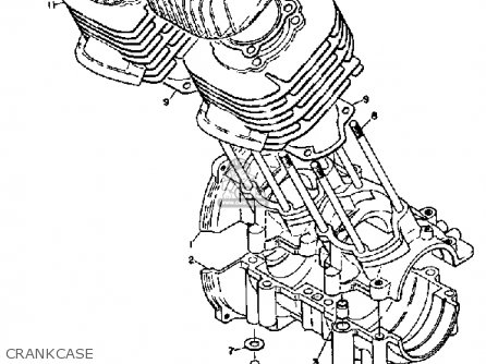 Yamaha SL351 1968 parts lists and schematics