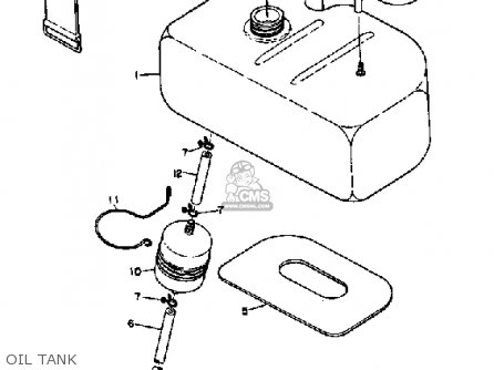 Yamaha Sl351 1968 parts list partsmanual partsfiche