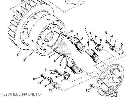 Yamaha SL433B 1973 parts lists and schematics