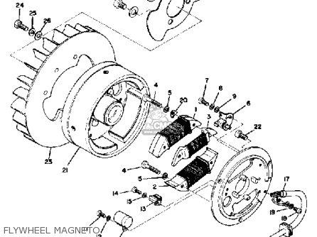 Yamaha Sm292 1973 parts list partsmanual partsfiche