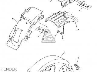 Yamaha SR125 1987 2JW SPAIN 272JW-352S1 parts lists and