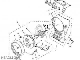 Yamaha Sr125 1987 2jw Spain 272jw-352s1 parts list