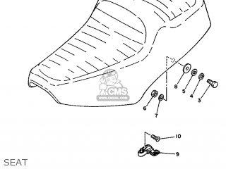 Yamaha SR125 1989 3MW2 EUROPE 293MW-300F3 parts lists and