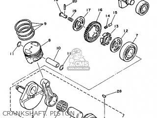 Yamaha SR125 1992 3MW3 EUROPE 223MW-300E1 parts lists and
