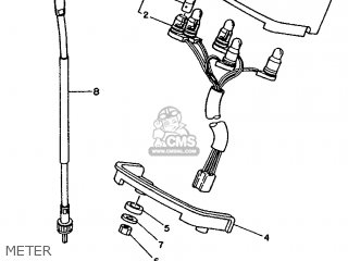 Yamaha Sr125 1992 3mw3 Europe 223mw-300e1 parts list