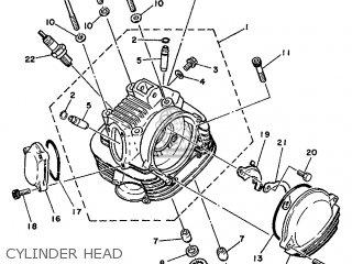 Yamaha SR125 1999 3MW8 ENGLAND 293MW-300E1 parts lists and