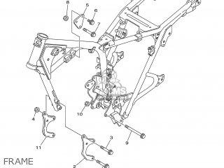 Yamaha SR125 2000 3MW9 ENGLAND 103MW-300E1 parts lists and