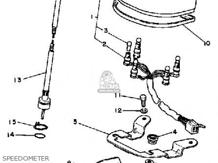 Yamaha Sr250 1981 Exciter1 Usa parts list partsmanual