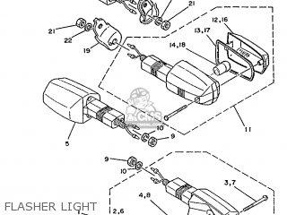Yamaha Sr250 1991 21l1 Spain 2121l-352s1 parts list