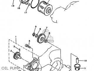 Yamaha SR250 1991 21L1 SPAIN 2121L-352S1 parts lists and