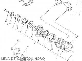Yamaha SR250 1998 21L2 SPAIN 2821L-352S1 parts lists and