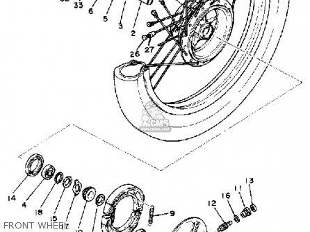 Yamaha Sr250 Exciter1 1980 (a) Usa parts list partsmanual