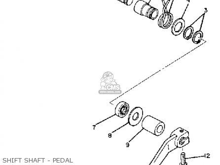 Yamaha Sr250 Exciter1 1982 (c) Usa parts list partsmanual