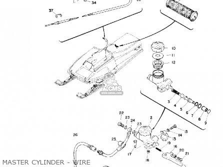Yamaha Sr292 1974 parts list partsmanual partsfiche