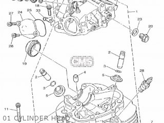 Yamaha Sr400 2016 2rdb Europe 1r2rd-300e1 parts list