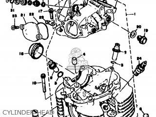 Yamaha SR500 1978 2J4 EUROPE 2J428-198E5 parts lists and