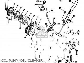 Yamaha Sr500 1978 2j4 Europe 2j428-198e5 parts list