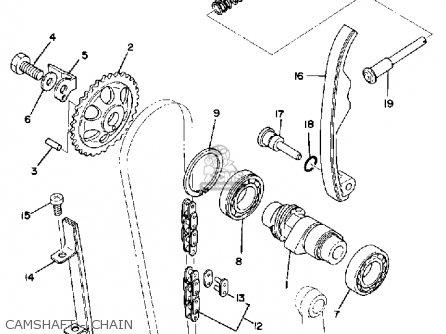 Yamaha Sr500 1980 Oceania parts list partsmanual partsfiche
