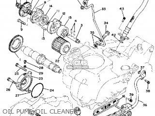 Yamaha Sr500 1981 (b) Usa parts list partsmanual partsfiche