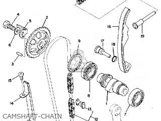 Yamaha Sr500 1981 Usa parts list partsmanual partsfiche