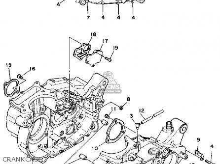 Yamaha SR500 1981 USA parts lists and schematics