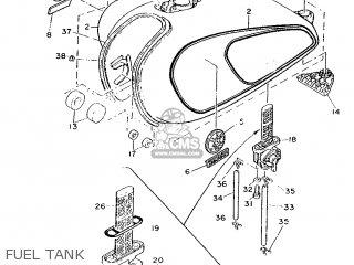 Yamaha Sr500 1987 1ru Germany 271ru-332g1 parts list