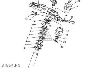 Yamaha Sr500 1993 3eb5 Germany 233eb-332g1 parts list