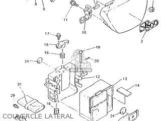 Yamaha SR500 1995 3EB6 FRANCE 253EB-351F1 parts lists and