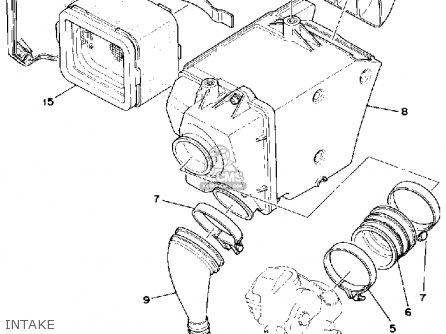 Yamaha Sr500e 1978 parts list partsmanual partsfiche