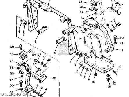 Yamaha SRX440E 1981 parts lists and schematics