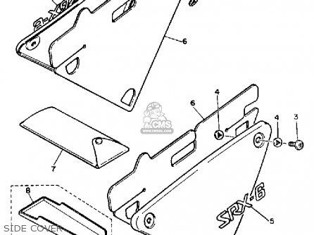 Yamaha SRX600SC 1986 parts lists and schematics