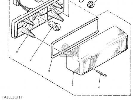 Yamaha SRX700B/SB, MSRX700PB 1998 parts lists and schematics